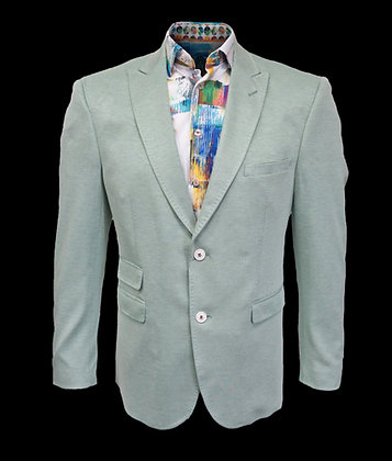 Inserch (Green) blazer, Two Button, Single Breasted