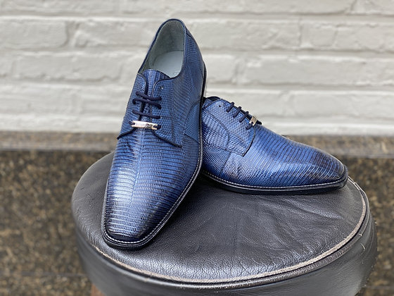 "Belvedere ""olivo"" Blue Lizard Shoes - stylish"