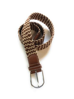 Luchiano Visconti stretch belt brown