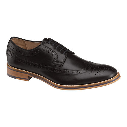 Johnston Murphy Men's Conard Black Wingtip Oxfords