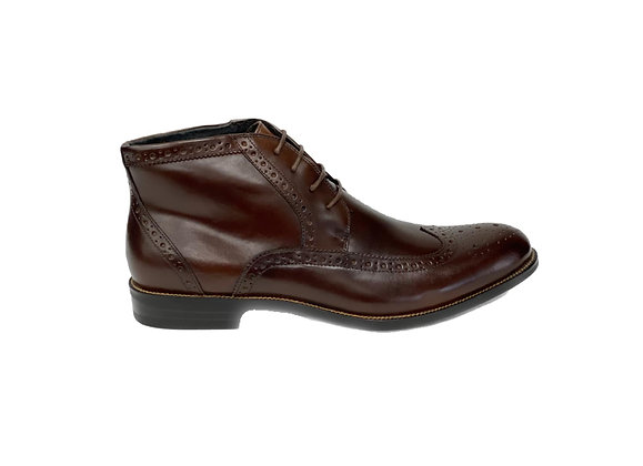 "Mens Brown Wingtip Boot ""GAGE"" by Stacy Adams"