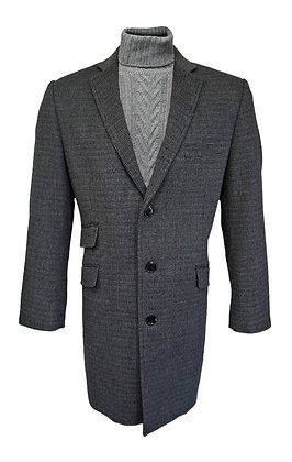 Enzo Gray Wool Carcoat