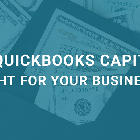 Is Quickbooks Capital Right for Your Business?