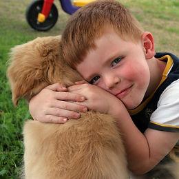 knufflen met je hond
