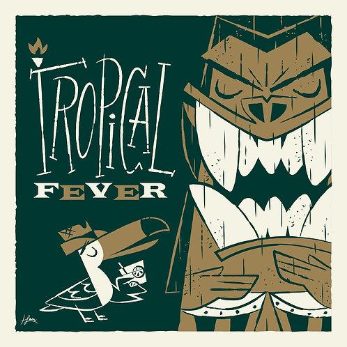 Serigrafia Tropical Fever
