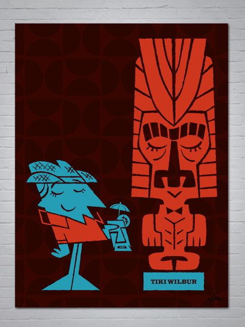 Tiki Wilbur - Arte digital original