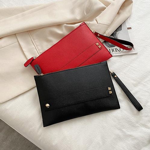 Minimalist Leather Clutch