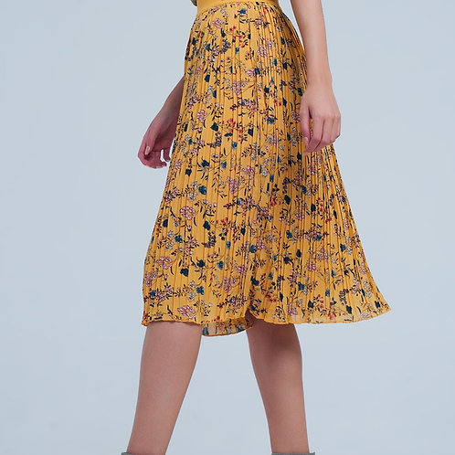 Mustard Coloured Skirt