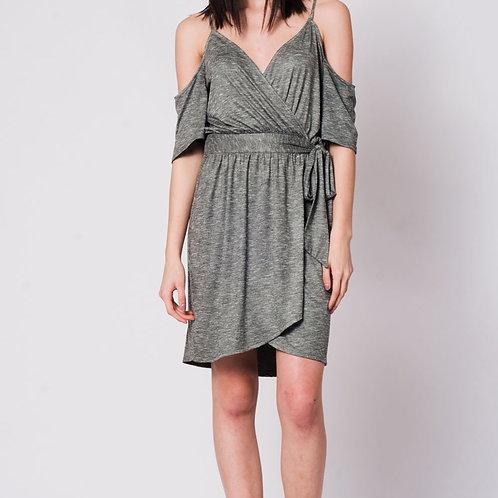 Olive Roman Dress