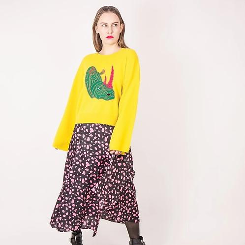 Yellow Rhino Sweater