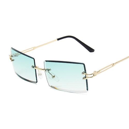 Vintage Frameless Sunglasses