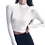 Thumbnail: Fitted Turtleneck Crop-Top (Color/Length Variations)