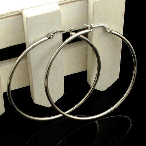 Hoop Earrings (Silver/Gold)