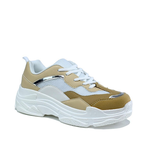 Chunky Trainer Nude/Beige