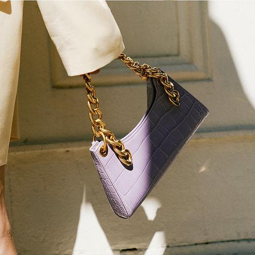 Vintage Chain-Handle Purse