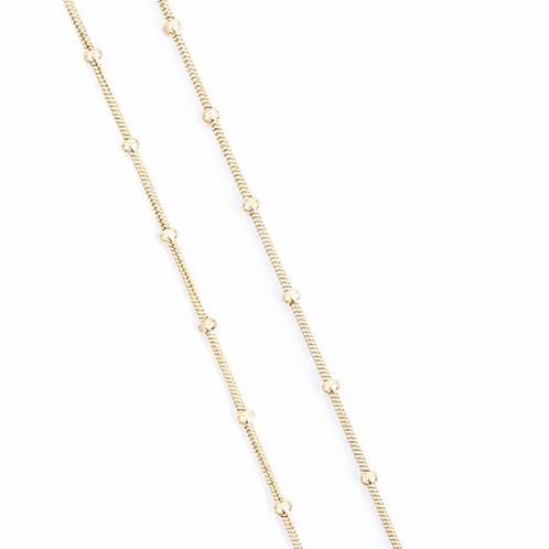 Golden Necklace (80CM)