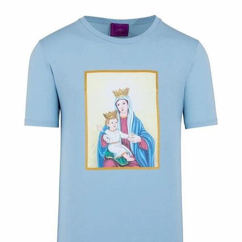 Jesus & Marie T-Shirt Blue