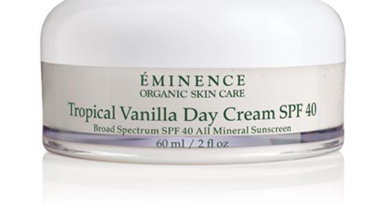 Tropical Vanilla Day Cream SPF 40 2o Retail