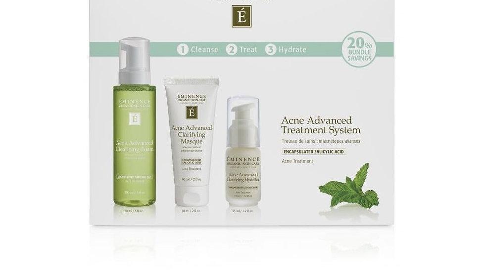 Eminence Organics Acne Advanced 3-Step Treatment System