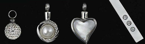 Stainless Steel Necklace - Cremation Jewelry