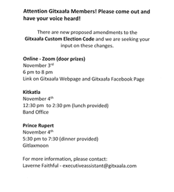 Gitxaala Custom Election Code