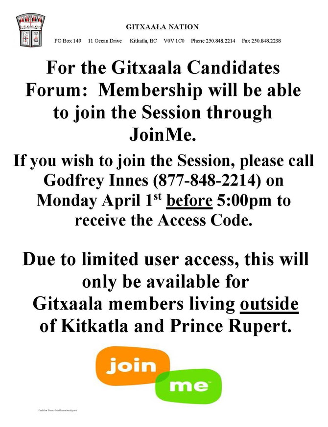 Candidates Forum: JoinMe
