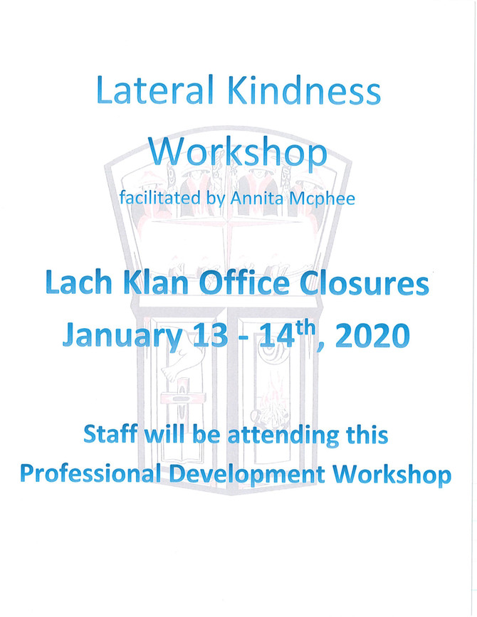 Lateral Kindness Workshop in Lach Klan