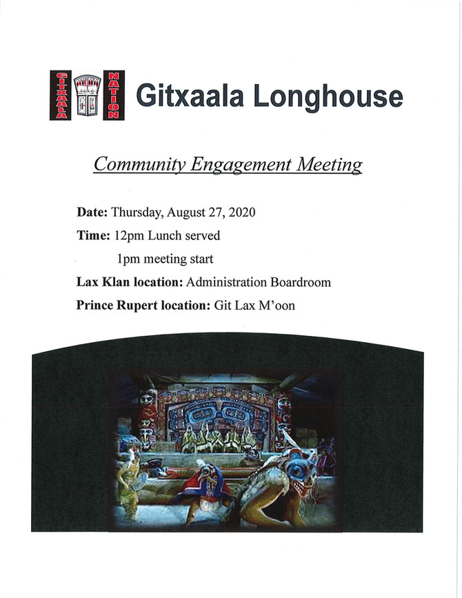 Community Engagement Meeting August 27, 2020