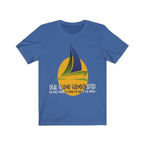 Deal Island Handcrafted Unisex Jersey Short Sleeve Tee