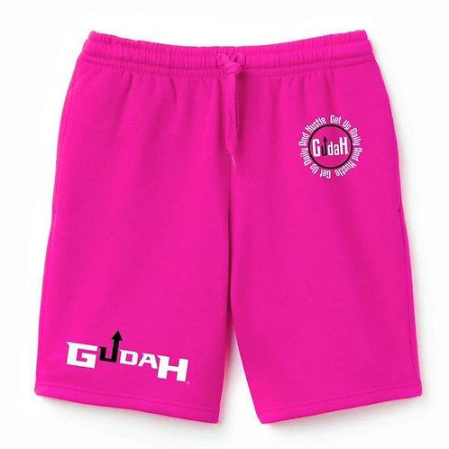 GUDAH~Pink Diamond shorts