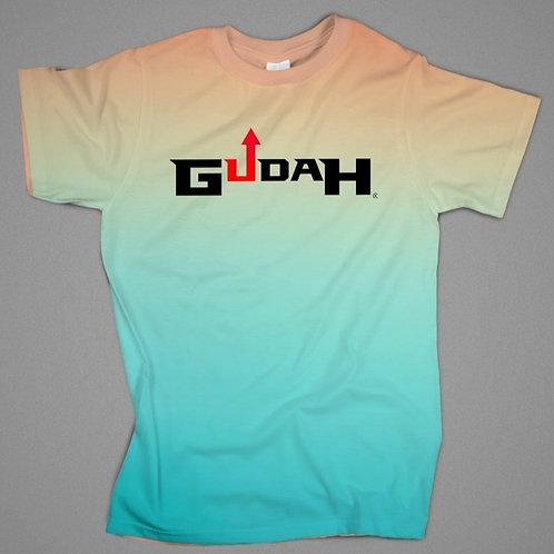 GUDAH~ Blue (Ombre) T-shirt