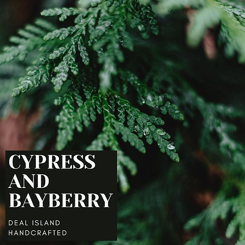 Cypress and Bayberry - Deal Island HandcraftedScented Wax Melt, Single