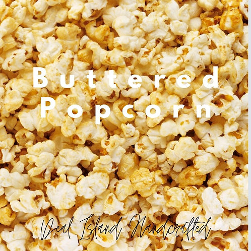 Buttered Popcorn  - Deal Island Handcrafted Scented Candle - 4oz., Single