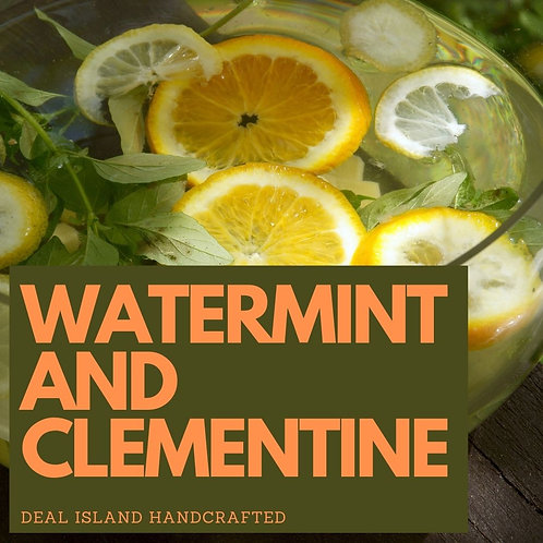 Watermint and Clementine - Deal Island Handcrafted Scented Wax Melt, Single