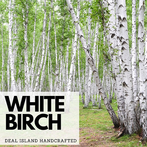 White Birch - Deal Island Handcrafted Scented Wax Melts, Single