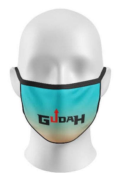 GUDAH Blue ombre mask