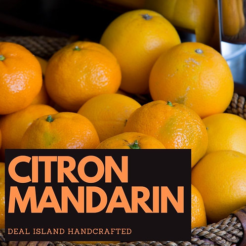 Citron Mandarin - Deal Island Handcrafted Scented Wax Melts, Single