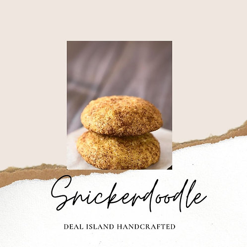 Snickerdoodle - Deal Island Handcrafted Scented Candle - 4oz., Single