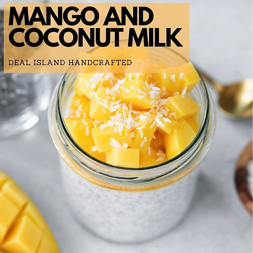 Mango and Coconut Milk - Deal Island Handcrafted Scented Wax Melts, Single