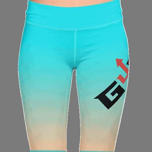 GUDAH~ Blue Biker shorts (Ombre)