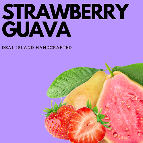 Strawberry Guava - Deal Island Handcrafted Scented Candle - 4 oz., Single