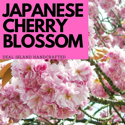 Japanese Cherry Blossom - Deal Island Handcrafted Scented Candle - 4 oz., Single