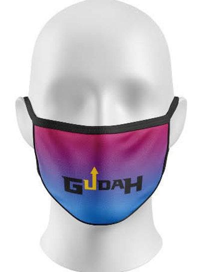 GUDAH~ Purple Ombre Mask