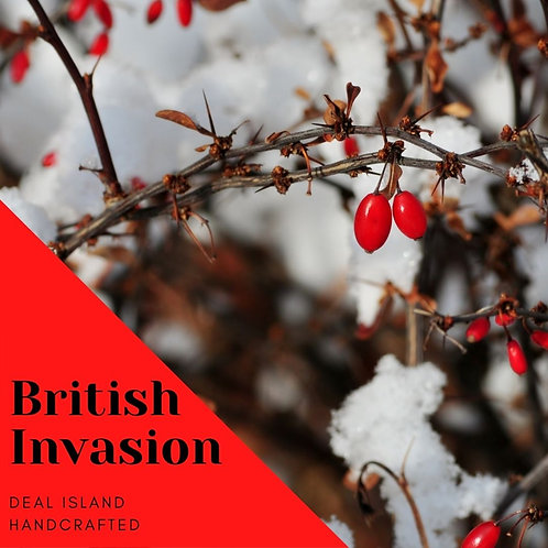 British Invasion - Deal Island Handcrafted Scented Candle - 4 oz., Single