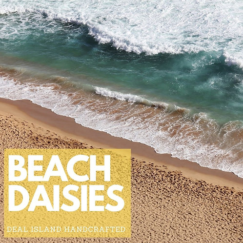 Beach Daisies - Deal Island Handcrafted Scented Wax Melts, Single