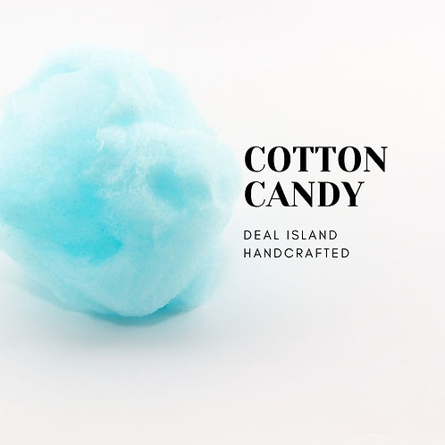 Cotton Candy - Deal Island Handcrafted Scented Candle - 4 oz., Single