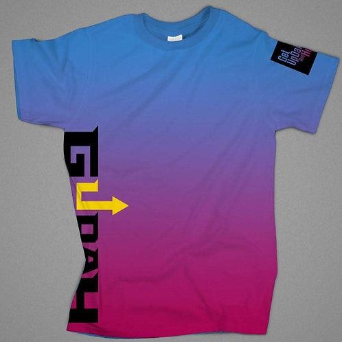 GUDAH~Purple T-shirt (Ombre) Unisex