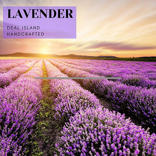 Lavender - Deal Island Handcrafted Scented Wax Melts, Single