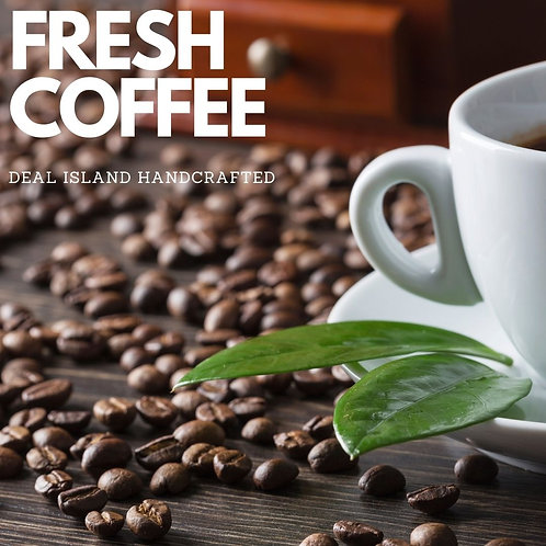 Fresh Coffee - Deal Island Handcrafted Scented Wax Melts, Single