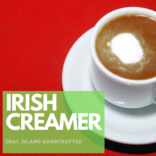 IRISH CREAMER - Deal Island Handcrafted Scented Candle - 8 0z,Single